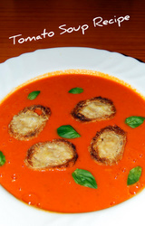 Mediterranean Diet Tomato Soup Recipe