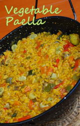 Vegetarian Paella Recipe