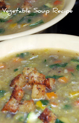 Mediterranean Diet Vegetable Soup Recipe