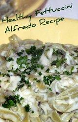 Mediterranean Diet Alfredo Recipe