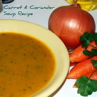 A Great - Healthy - Carrot & Coriander Soup Recipe
