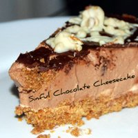Creamy Gooey Chocolate Cheesecake