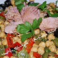 Spicy Moroccan Chickpea Salad