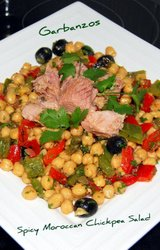 Mediterranean Diet Chickpea Salad Recipe