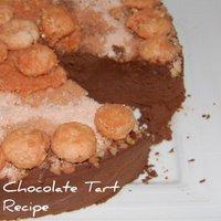 Mediterranean Chocolate Tart - Tarte au Chocolat