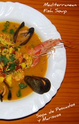 Mediterranean Diet Fish Soup Recipe