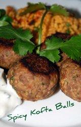 Mediterranean Diet Spicy Kofta Recipe