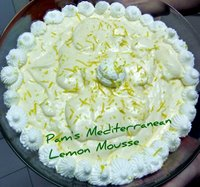 Pam's Perfect Lemon Mousse Recipe