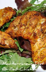 Mediterranean Diet Marinated Chicken Recipe