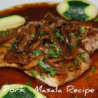 A Mediterranean Pork Marsala Recipe