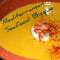 A Mediterranean Seafood Bisque Recipe