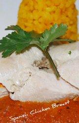 Mediterranean - Spanish Stuffed Chicken Breast Recipe