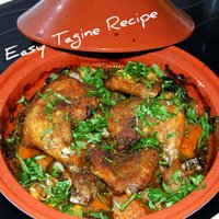 Easy Tagine Recipe with Couscous