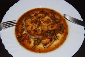 Swordfish with Fresh Tomato Salsa