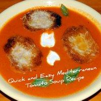 A Quick- Healthy - Tomato Soup Recipe