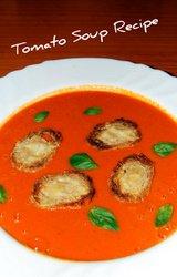 Mediterranean Diet Tomato Soup Recipe