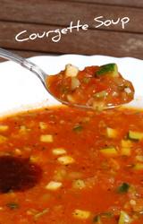 Mediterranean Diet Zucchini Soup Recipe