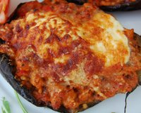 Healthy Tasty Stuffed Aubergine