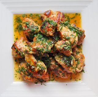 Garlic Chicken - Pollo al Ajillo