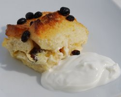 Mediterranean Bread and Butter Pudding