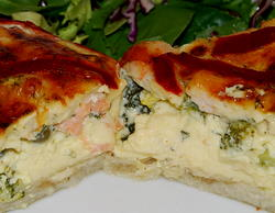 Great Salmon Quiche Recipe