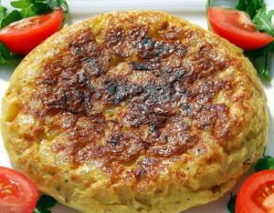 Spanish Omelette - Tortilla de Patatas
