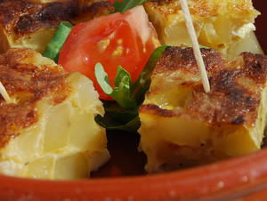 Delicious Spanish Omelette Tortilla Tapa