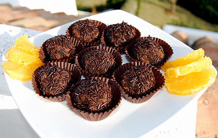 Great Chocolate Truffle Recipe Photo with Cointreau