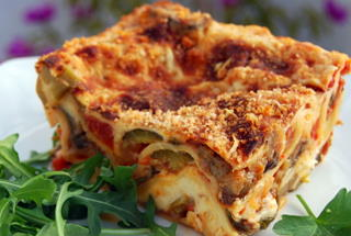 Creamy Roasted Vegetable Lasagne