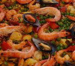 Mediterranean Recipe Seafood Paella