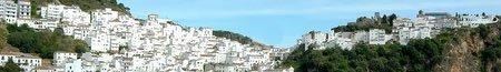 Village Overlooking the blue Mediterranean