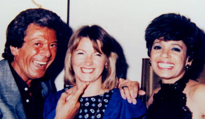 Pam Makes Creme Brulee for Shirley Bassey and Lionel Blair